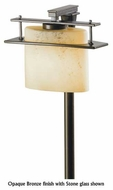 Hubbardton Forge 347521 Arc Ellipse Small Outdoor Post Light