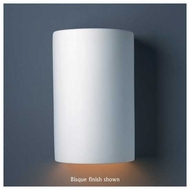 Justice Design 5260 Ambiance Large ADA Closed Top Cylinder Wall Sconce