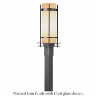 Hubbardton Forge 34-5895 Banded Outdoor Large Post / Pier Mount Light