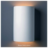 Justice Design 5265 Ambiance Large Open Top ADA Cylinder Wall Sconce