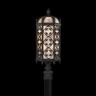 Fine Art Lamps 541480 Costa Del Sol 29 inch outdoor post mount light in Marbella wrought iron