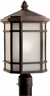 Kichler 11020PR Cameron 20 Inch Energy Efficient Fluorescent Outdoor Post Lantern