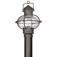 Troy P1876BB Portsmouth Large Outdoor Nautical Post Lantern
