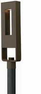 Hinkley 1641BZ Atlantis 2 Light Contemporary Outdoor Halogen Post Light in Bronze