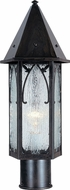 Arroyo Craftsman SGP-7 Saint George Craftsman Outdoor Light Post - 7 inches wide