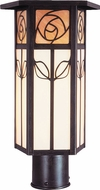 Arroyo Craftsman SCP-12 Saint Clair Craftsman Outdoor Light Post - 12 inches tall