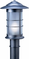 Arroyo Craftsman NP-14L Newport Nautical Outdoor Light Post - 22.5 inches tall
