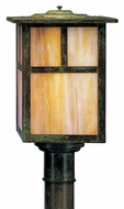 Arroyo Craftsman MP-10 Mission Craftsman Outdoor Light Post - 10 inches wide