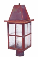 Arroyo Craftsman HP-6 Hartford Craftsman Outdoor Light Post - 16.5 inches tall