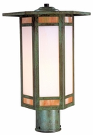 Arroyo Craftsman ETP-14 Etoile Craftsman Outdoor Post Light - 14.25 inches wide