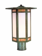 Arroyo Craftsman ETP-9 Etoile Craftsman Outdoor Post Light - 8.5 inches wide