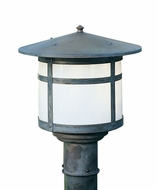 Arroyo Craftsman BP-11 Berkeley Outdoor Lighting Post - 9.125 inches tall
