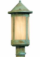 Arroyo Craftsman BP-6L Berkeley Outdoor Lighting Post - 11.125 inches tall