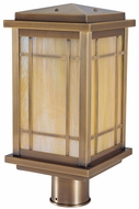 Arroyo Craftsman AVP-8L Avenue Craftsman Outdoor Light Post - 15 inches tall