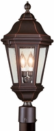 Troy PCD6832ABZ Verona Traditional Outdoor Light Post - 11.5 inches wide