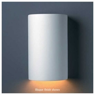Justice Design 5940 Ambiance Small ADA Closed-Top Cylinder Wall Sconce