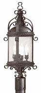 Troy PCD9123OBZ Pamplona Traditional Outdoor Lighting Post