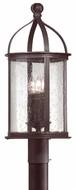 Troy P9474FBK Scarsdale Traditional Outdoor Lighting Post - 10 inches wide