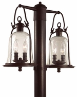 Troy P9464NB Owings Mill Outdoor 2 Light Lighting Post
