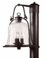 Troy P9465NB Owings Mill Outdoor 1 Light Lighting Post