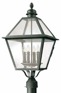Troy P9626NB Townsend Traditional Outdoor Lighting Post - 13.5 inches wide