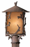 Troy PA8737HK Cheyenne Rustic Outdoor Post Lantern