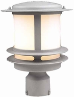 PLC 1896-SL Tusk Exterior Post Light in Silver