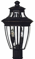 Quoizel GT9294IB Georgetown outdoor light post fixture in imperial bronze
