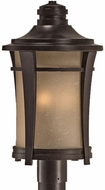 Quoizel HY9011IB Harmony outdoor lighting post fixture in imperial bronze