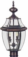 Quoizel NY9042 Newbury 21 inches tall outdoor post lamp