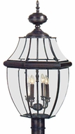 Quoizel NY9045 Newbury 30.5 inches tall outdoor post lamp