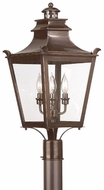 Troy P9496EB Dorchester Traditional Outdoor Lighting Post - 11.25 inches wide