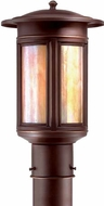 Troy PIH6911OB Highland Park Outdoor Light Post - 8 inches wide