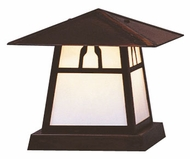 Arroyo Craftsman CC-8 Carmel Craftsman Outdoor Pier Mount - 8 inches wide