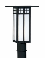 Arroyo Craftsman GP-6L Glasgow Craftsman Outdoor Light Post - 7 inches tall