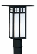 Arroyo Craftsman GP-9 Glasgow Craftsman Outdoor Light Post - 9 inches tall