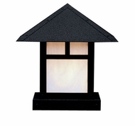 Arroyo Craftsman EC-9 Evergreen Craftsman Outdoor Pier Mount Light - 9 inches wide