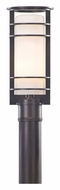 Troy PF6066 Vibe Fluorescent Light 15 Inch Tall Outdoor Post Light