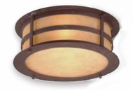 Troy C9251NB Aspen Outdoor Flush Mount Ceiling Fixture