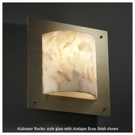 Justice Design 5561 Framed 4-Sided Square Fluorescent Wall Sconce