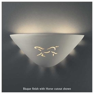 Justice Design 9035 Sun Dagger Fan Wall Sconce