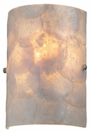Lite Source LS16112 Shelley Shell Textured Wall Sconce