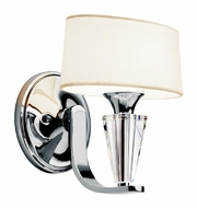 Kichler 42028CH Crystal Persuasion Wall Lamp