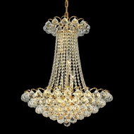 Elegant 2001D21G-RC Godiva Medium Gold Crystal Ceiling Chandelier