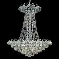 Elegant 2001D21C-RC Godiva Chrome Finish 28  Crystal Antique Chandelier