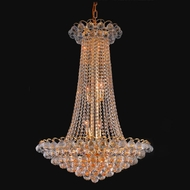 Elegant 2001D27G-RC Godiva Large 36  Tall Crystal Chandelier Pendant Lighting