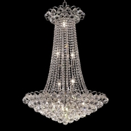 Elegant 2001D27C-RC Godiva 15 Light Chrome Crystal Chandelier