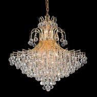 Elegant 8005G31G-RC Toureg Extra Large Gold Crystal Pendant Chandelier