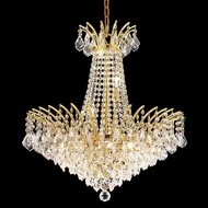 Elegant 8033D24G-RC Victoria Crystal Chandelier Light - Gold