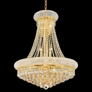 Elegant 1800D24G-RC Primo 24  Gold Crystal Chandelier Lighting